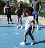Basketball-Sport-Übungs-Tätigkeits-Freizeit stockfotos