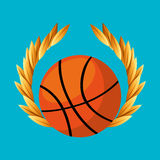 Basketball sport emblem icon Royalty Free Stock Images