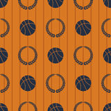 Basketball sport seamless pattern eps 10  Stock Photo
