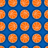 Basketball sports seamless pattern Stock Images