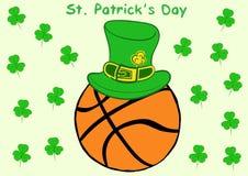 Basketball St. Patrick's Day Stock Photos