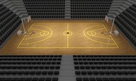 Basketball stadium Stock Photography