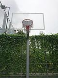 Basketball stand vertical view Royalty Free Stock Photography