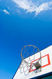 Basketball Stands Under Blue Sky Royalty Free Stock Images