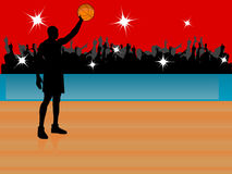 Basketball star Stock Photography