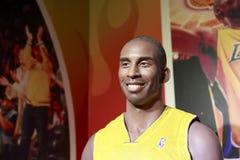 Basketball - Star-Kobe Bryant Wachsfigur Stockbild