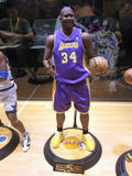 Basketball star Shaquille O neal figure Stock Photos