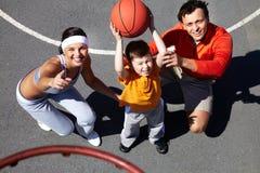 Basketball study Stock Photo