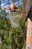 Basketball Swish Royalty Free Stock Photos
