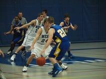Basketball-Tätigkeit Lizenzfreie Stockbilder