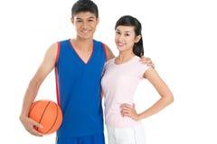 Basketball team Stock Image