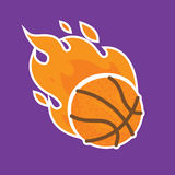 Basketball team icon template isolated vector illustration Royalty Free Stock Image