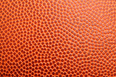 Basketball texture. Orange new basketball texture close up Royalty Free Stock Photography