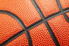 Basketball texture Stock Image