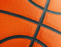 Basketball texture close up Royalty Free Stock Image