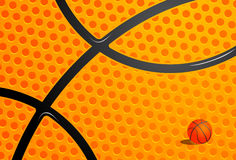 Basketball theme Royalty Free Stock Photos