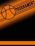 Basketball themed flier template. Design vector illustration