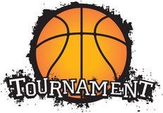 Basketball Tournament. Fun vector basketball tournament graphic Royalty Free Stock Image