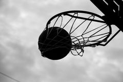 Basketball tournament Stock Photography