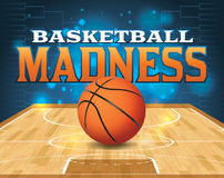 Basketball Tournament Illustration Royalty Free Stock Photos