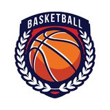 Basketball Tournament Logos Royalty Free Stock Image
