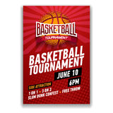 Basketball tournament, modern sports posters design. Vector illustration vector illustration