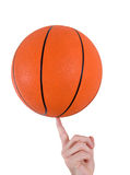 Basketball trick Stock Images