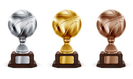 Basketball trophy Royalty Free Stock Photo