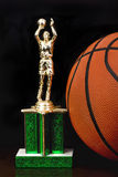 Basketball Trophy. Royalty Free Stock Photo