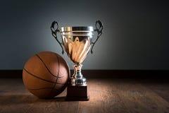 Basketball trophy Stock Image
