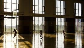 Basketball-Turnhalle Stockfotografie