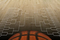Basketball-Turnier Lizenzfreie Stockfotos