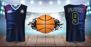 Free Basketball Uniform & Jersey, Tank Top Sleeveless Shirt. Royalty Free Stock Image - 138814856