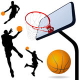 Basketball vector Stock Photography