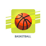 Basketball vector icon. Isolated vector illustration vector illustration