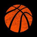 Basketball. A vector icon of an orange basketball Stock Images