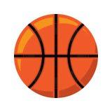 Basketball. A vector icon of an orange basketball Royalty Free Stock Photo