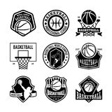 Basketball Vector Icons 3. Here is an awesome set of basketball badges that you are sure to find very useful. Hope you really enjoy using them Royalty Free Stock Image