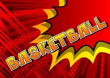 Basketball - Comic book style phrase. royalty free illustration