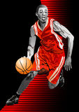 Basketball vector illustration Stock Images