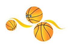 Basketball. Vector illustration of basketball   dunk Stock Photos