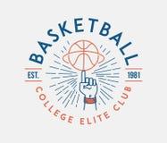 Basketball college elite club vector illustration. Basketball is a vector illustration about sport vector illustration