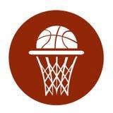 Basketball, vector. Illustration on white stock illustration