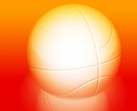 Basketball wallpaper background Royalty Free Stock Photos