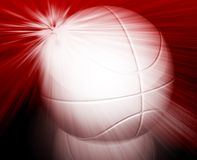 Basketball wallpaper background Royalty Free Stock Image