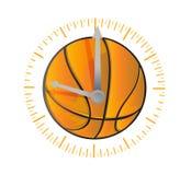 Basketball watch illustration design Royalty Free Stock Image