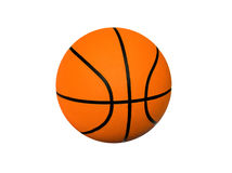 Basketball. On a white background Royalty Free Stock Images