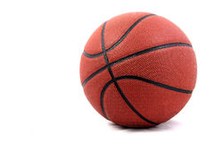 Basketball. With white background. Shot in photographic tent Stock Photos