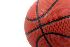 Basketball. With white background. Shot in photographic tent Royalty Free Stock Photo