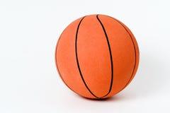 Basketball on white backround. Orange Basketball on white background Stock Photos